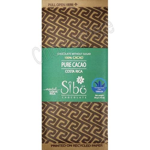 'Pure Cacao' 100% Cacao Bar – 50g
