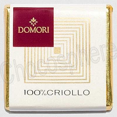 100% Criollo Napolitains Chocolate Tasting Squares