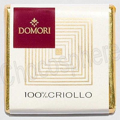 100% Criollo Napolitain Chocolate Tasting Square