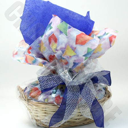 Chanukah-Theme Basket
