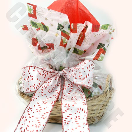 'Christmas Lights' Basket