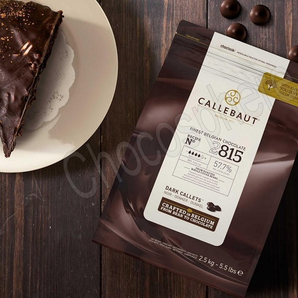 Callebaut 2815NV Semi-Sweet Callets