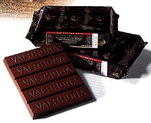 Valrhona Noir Orange Couverture Block