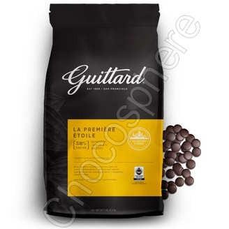 Guittard La Etoile du Premiere 58% Cacao Dark Wafers
