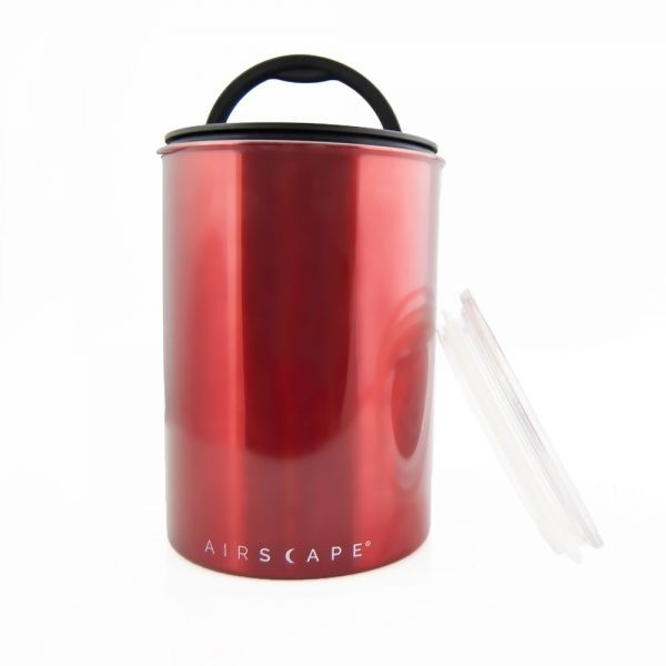 Airscape Candy Apple Red Canister