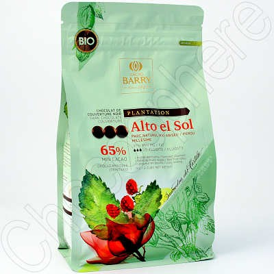 Cacao Barry Alto el Sol Single Plantation Peru Dark Chocolate Couverture