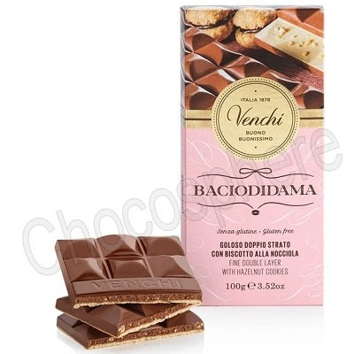 Baciodidama Milk Chocolate Bar - 100g