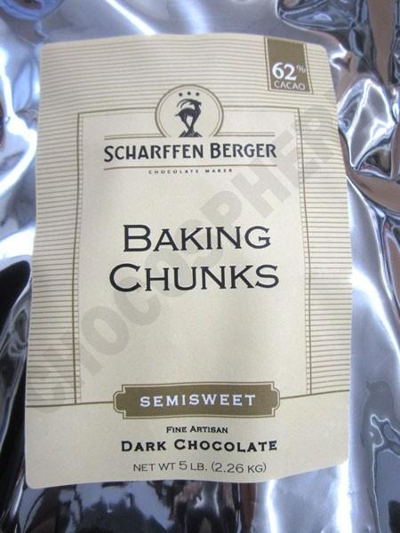 Semisweet Baking Chunks 5Lb Bag