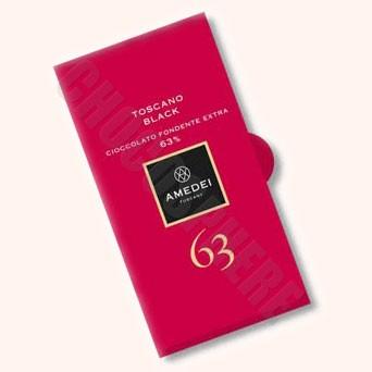 63% Toscano Black Bar 50g