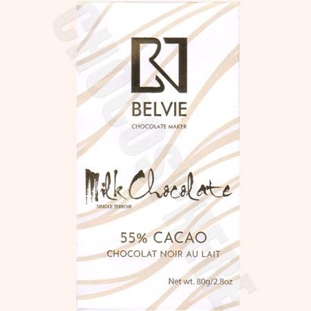 Au Lait 55% Milk Chocolate Bar - 80g