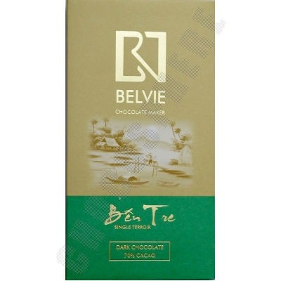 Ben Tre 70% Cacao Chocolate Bar - 80g