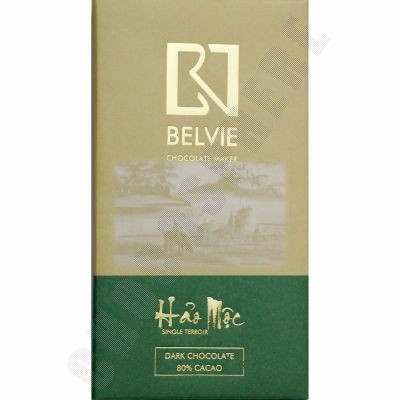Hao Moc 80% Cacao Chocolate Bar - 80g