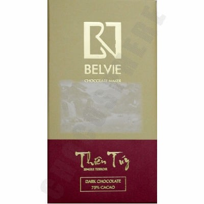 Thien Tuy 75% Cacao Chocolate Bar - 80g