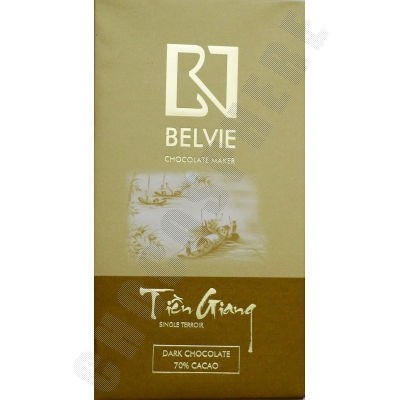 Tien Giang 70% Cacao Chocolate Bar - 80g