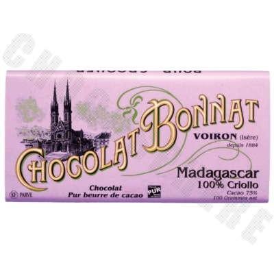 Madagascar Criollo Chocolate Bar 100g
