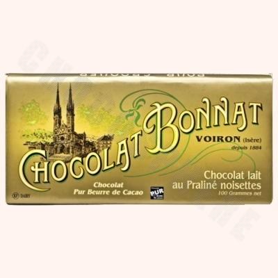 Milk Chocolate Hazelnut Praline Bar 100g