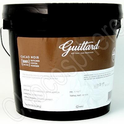 Guittard Cacao Noir Cocoa Powder (Dark) 5 lb Bucket