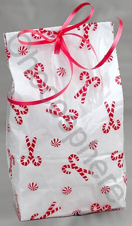Candy Cane Gift Bag –– Add-on