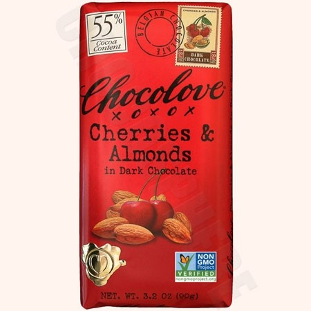 Cherries & Almonds Bar 3.2oz