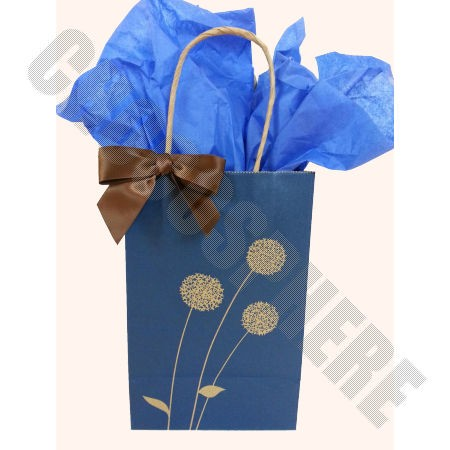 Painted-Posies Gift Bag