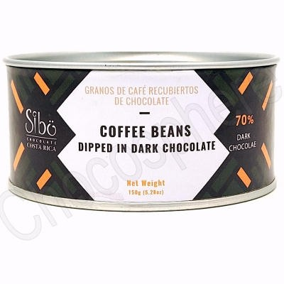 Chocolate Covered Coffee Beans Canister – 150g