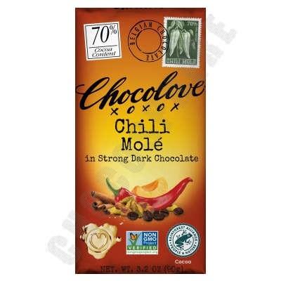 Chili Molé Dark Chocolate Bar 3.2oz