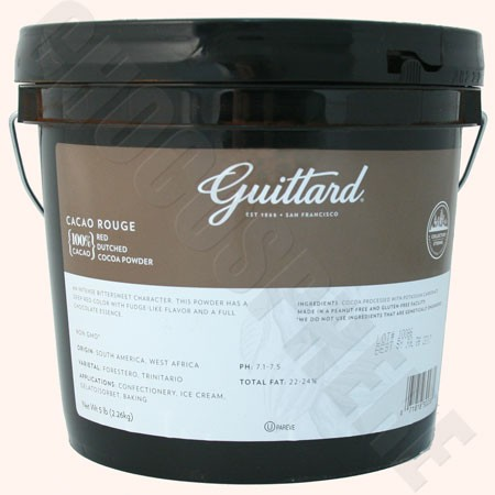Guittard Cacao Rouge 5 lb Bucket