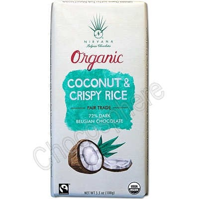 Organic Bar with Crispy Rice and Coconut 3.5oz