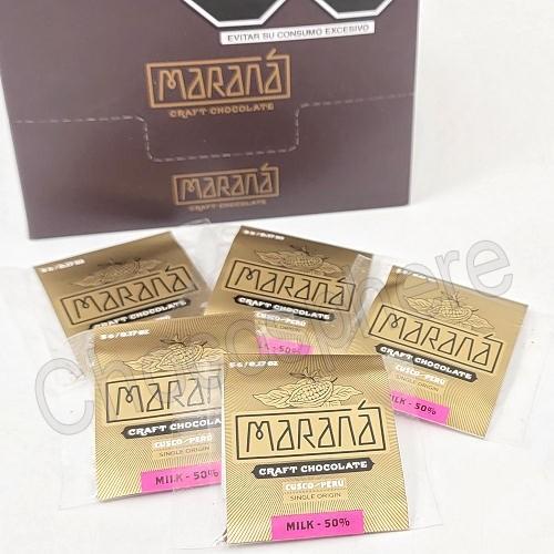 Cusco Milk Chocolate Squares - 50% Cacao