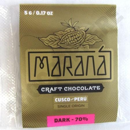 Cusco Dark Chocolate Squares - 70% Cacao