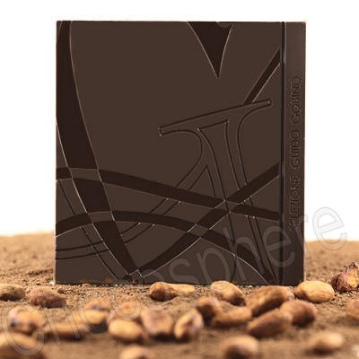 Dark Chocolate Bar 75% Cacao 55g