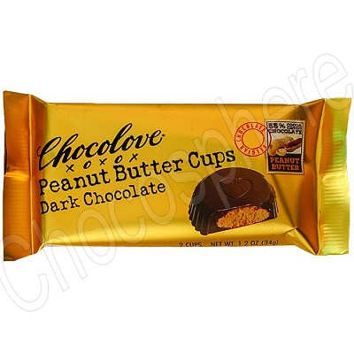 Chocolove Dark Chocolate Peanut Butter Cups
