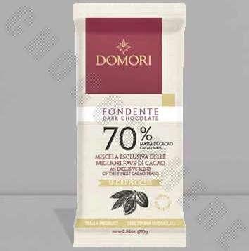 Fondente 70% Chocolate Bar - 75g