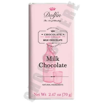 Milk 38% Cacao Chocolate Bar 70g