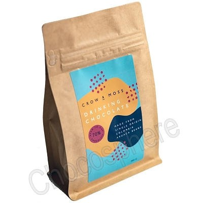 Drinking Chocolate Pouch - 70% Cacao - 300g