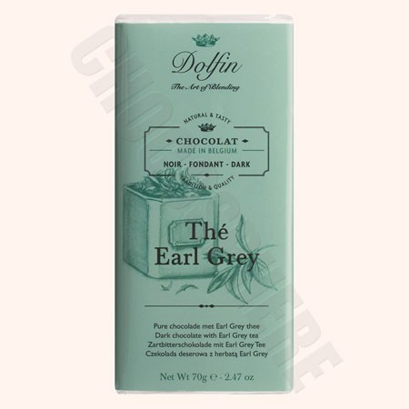 Chocolat Noir Au The Earl Grey 70g