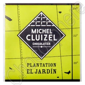 Michel Cluizel Plantation El Jardin Dark Chocolate Tasting Square