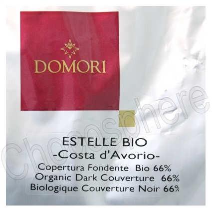 Estelle Bio Organic 66% Cocoa Dark Chocolate Discs 5Kg