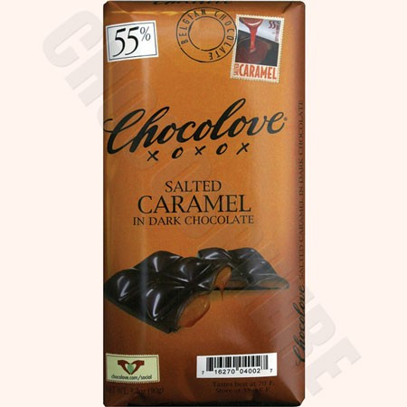 Chocolove Salted Caramel Dark Bar 3.2oz