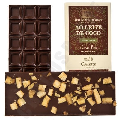 Coconut Milk Chocolate with Coconut Bar