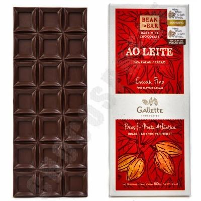 Para Parazinho 56% Chocolate Bar - 100g