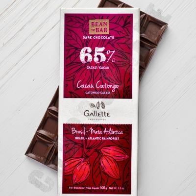 Cacao Catongo 65% Chocolate Bar - 100g