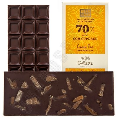 Dark Chocolate with Cupuacu Bar
