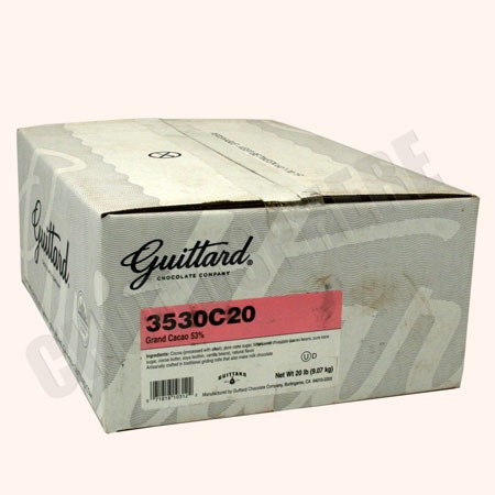 Guittard Grand Cacao Drinking Chocolate 20 Lb Box