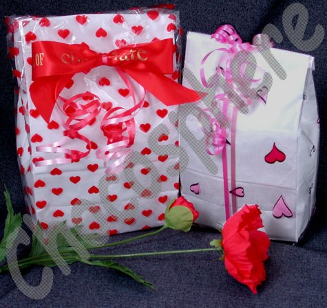 Heart-Theme Gift Bag
