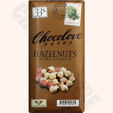 Hazelnuts Bar 3.2oz