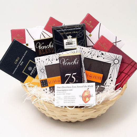 Italian Chocolate Assortment Basket 2014 - Medium