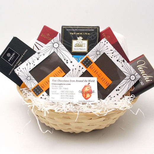 Italian Chocolate Assortment Basket 2014 - Small