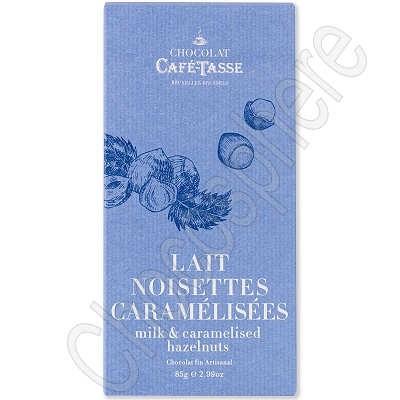 Lait aux Noisettes Caramelisees et Salees Tablet