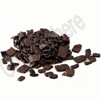 Large Dark Chocolate Flakes - 1Kg